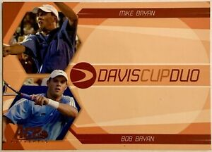 2007 ACE STRAIGHT SETS BOB MIKE BRYAN DAVIS CUP DUO USA BROTHERS TWINS #DC 4
