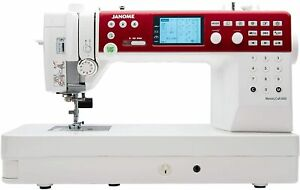 Janome 6650 Memory Craft Electronic Quilting Sewing Machine Accessories Video $1250.00