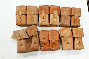 1 Yugoslavian SKS Leather Dual Cell Ammo Pouch Good #PAL13 $15.00