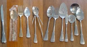 Oneida Patrick Henry Stainless Salad Forks Fruit Spoons Teaspoons Soup Iced T