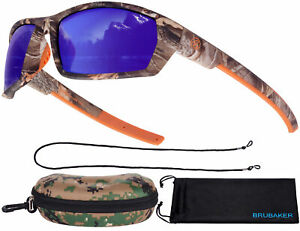 BRUBAKER Polarized Sunglasses Camouflage for Fishing and Hunting Colored L