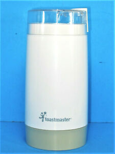 Toastmaster Push Button Coffee Grinder Spice Mill Model 1119 w Manual