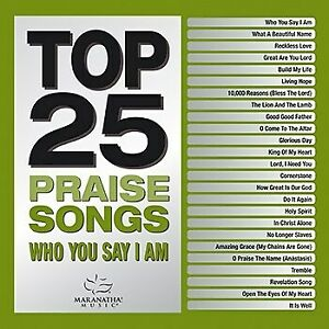 Audio CD Top 25 Praise Songs Who You Say I Am 2 CD