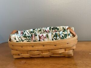 Small longaberger basket with liner $10.50
