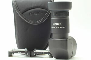 MINT in Case Canon Angle Finder with C Ed C Ec C 2 Adapters From JAPAN $74.99