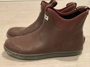 Xtratuf Mens Boots 11 Ankle Deck Maroon