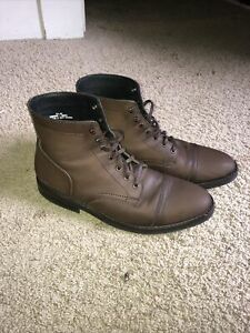 Thursday Boot Company Captain Mens Boots Brown size 9.5