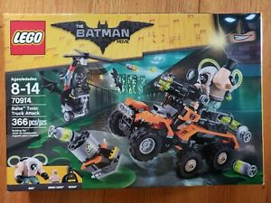 The LEGO Batman Movie 70914 Bane Toxic Truck Attack New in Sealed Box