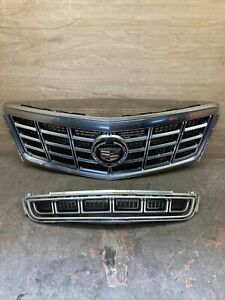 2013 2014 2015 cadillac xts Upper And Middle grilles oem $250.00
