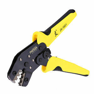 Pro Wire Crimpers Ratchet Terminal Crimping Pliers Tool 3.96 6.3mm 26 16AWG F5U1 $21.42