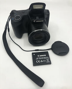 Canon PowerShot SX 400 IS 16mp Digital Camera with 30x Optical Zoom Black