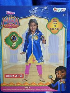 Disney Junior Mira Royal Detective Size 3T 4T Child Costume Outfit H $16.61