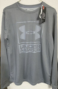 New Boys Youth Under Armour Long Sleeve Shirt Loose Size Y XL NWT