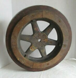 Vintage Wooden Foundry Pattern Wheel Mold $75.00