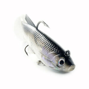 Fishing Lures Easy Shiner Wobblers 12.5g Artificial Soft Bait Silicone Lure Bait