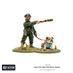 CAPT COLIN MAUD RN BEACH MASTER WARLORD GAMES BOLT ACTION