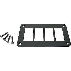 Moose Utility Division Universal Dash Plate Four Switches 0521 1800 $12.95