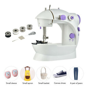 Portable Sewing Machine Mini Electric Crafting Mending Machine Household Tailor $19.95