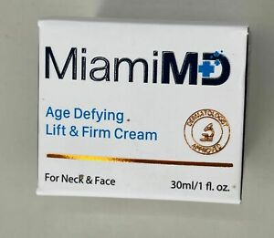 MIAMI MD AGE DEFYING LIFT FIRM CREAM FREE FAST SHIPPING $34.99