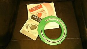 1971 Knit Easy Hand Method Circle Loom amp; Booklet In Original Box Easy To Use $13.00