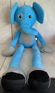 Stretch Kins Elephant Blue Up To 60� Plush Toy Doll Dance Fun As Seen On TV $14.99