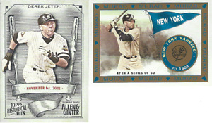 2021 TOPPS ALLEN GINTER INSERTS ***YOU PICK*** $1.69