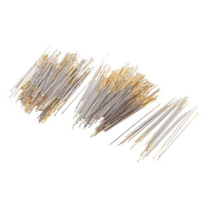220x Large eye Hand Sewing Needles Golden Tail Embroidery Darning Needles $9.42
