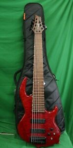 7 String Bass Guitar Groove Tools By Conklin Made In Korea amp; Mono Bass Case