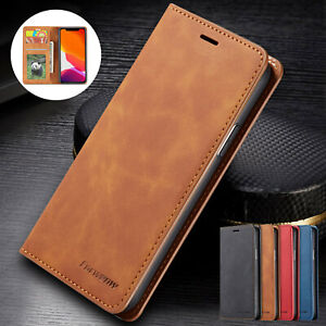 Case For iPhone 11 12 13 Pro XS Max XR 7 8 Plus Flip Leather Wallet Phone Cover $11.89