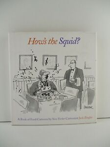 How#x27;s the Squid? New Yorker Food Cartoons Jack Ziegler H C Tracking B183