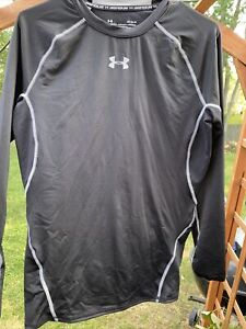 Under Armour Mens Size Large Heatgear Compression Shirt Long Sleeve $11.00
