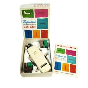 Professional Buttonholer By Singer For Vertical Needle Zig Zag Sewing Machines $20.46