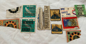 Lot of Vintage Antique Sewing Supplies Tools Notions buttons $10.00