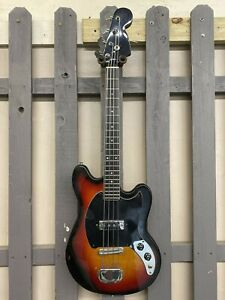 Teisco Model 559 1462 24quot; Scale Bass used