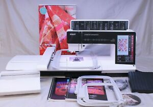 MINT PFAFF CREATIVE SENSATION SEWING QUILTING amp; EMBROIDERY MACHINE COMPLETE $2672.00