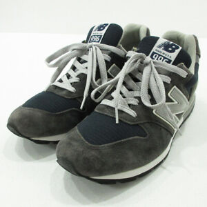 New Balance Used Sneakers M996Nav Gray Size 28.5 F126