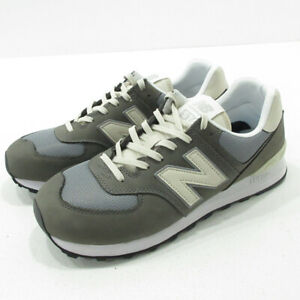 New Balance Used Sneakers Ml574Srp Gray Size F126