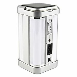 Rechargeable Camping Lantern,Solar Charging Super Bright Portable Led Silver