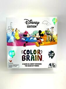 Disney Edition Color Brain Guessing Game for Kids amp; Families COMPLETE $7.49
