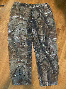 Cabelas Mens Hunting Pants Realtree AP Camo Thinsulate Insulated XL Reg
