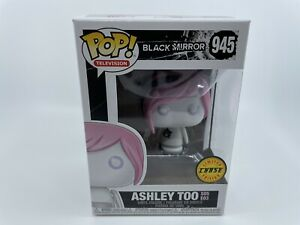 Funko Pop Television Black Mirror Ashley Too #945 CHASE Mint W Case New $26.95
