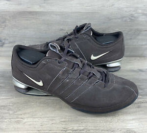 Nike Shox Low Womens Shoes 316566 221 Athletic Running Sneakers Size 8.5 Brown $24.99