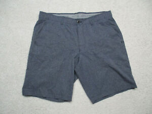 Under Armour Golf Shorts 38 Blue Match Play Performance Loose Stretch $19.98