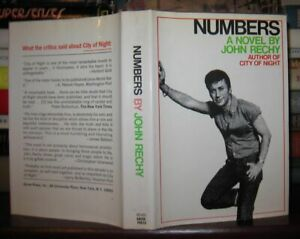 Rechy John NUMBERS 1st Edition 2nd Printing $74.95