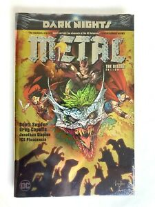 Dark Nights Metal The Deluxe Edition by Scott Snyder 2018 Hardcover NEW Sealed $49.00