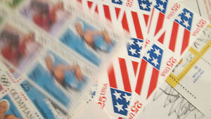 US Discount Postage 336x 25c stamps MNH Face $84.00