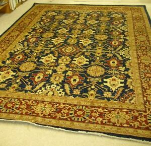 Afghan Carpets Rugs Woolen Hand Made Size 8.3' x 11.4'  200 years old design!