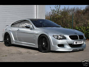 BMW E63 M6 WIDEBODY KIT BY PRIOR DESIGN BODY KIT 6 SERIES E64 WIDE BODY