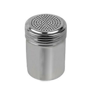 10 oz. Stainless Steel Salt Pepper Shaker Spice Jar TH