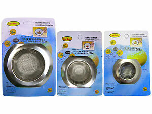 Stainless Steel Mesh Sink Drain Strainer New